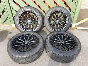 "20"" Wolfrace Wolfsburg gloss black wheels c/w Pirelli Verde all season tyres"
