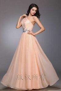 Frauen Brautjungfernkleid lange Abend formelle Partykleid schlanke Kleid Neu