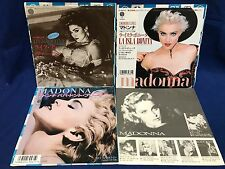 LOT 3 Madonna Japan EP Record Like A Virgin Papa Don't Preach La Isla Bonita F/S