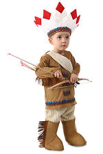 Native American Indian Costume Brendan's Boys 12 18 24 months 2T 3T 4T 3 4 XS