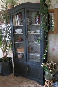 Vintage Bookcase, Cabinet, dresser, cupboard.