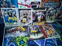 80 card lot Green Bay Packers - Brett Favre - Aaron Rodgers - Contenders - RC