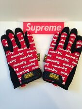 Supreme Mechanic Gloves Small New