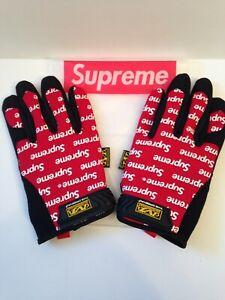 Supreme Mechanic Gloves Small New