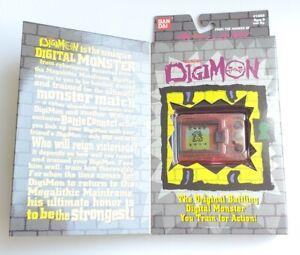 RAREST Clear Red 1997 New Sealed Unopened Bandai Tamagotchi ORIGINAL DIGIMON