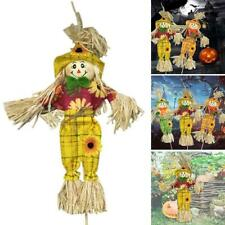 Mini Autumn Harvest Scarecrow Halloween Party Favors Supplies Yard Decor