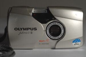 FILM TESTED Olympus MJU-II µ[mju:]-II  35mm 1:2.8  35/2.8 large aperture lens