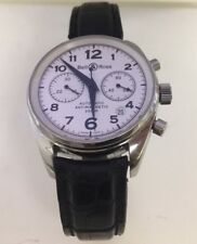 "Bell & Ross 39mm ""Vintage 126 Chronograph 200m antimagnetic automatic Preowned"