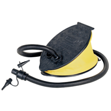 Air Step Foot Pump Inflatable Mattress Raft Bellows Double Action Inflator