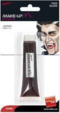 Sangue Finto Tubino Halloween Vampiro Zombie Sanguinoso Costume Smiffys 24409