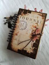 """Handmade Junk Journal """"Vintage Love Story"""""""