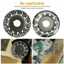 Cutting Woodworking Tool Angle Grinder Shaping Saw Blade Wood Carving Disc