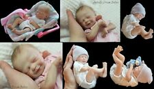 """ZaNe"" DoLL KiT By MaRiTa WiNtErS WiTh DoLL BoDy ~ REBORN DOLL SUPPLIES"