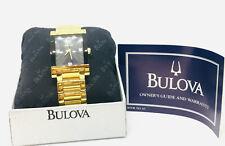 Bulova Men's 4 Diamonds Dress Watch 97F50
