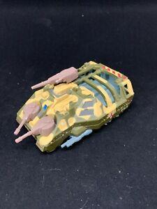 Vintage 1989 Kenner Parker Toys Die Cast Mega Force Tank Tar-Traks Army