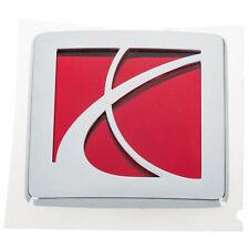 OEM NEW Front Hood Saturn Emblem Badge Chrome Red 03-07 Ion LSeries Vue 22731602