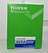 Fujifilm Fujichrome Astia 100F 20 sheets 4x5 in box New Unused Professional film