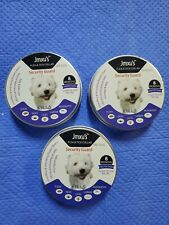 3 pack Jmxus Flea and Tick Collar Large Sm Dog 8 Months