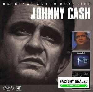 Johnny Cash – Original Album Classics 3 x CD Box Set NEW