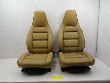 1986-1995 Porsche 928 S4 #1082 Front 8-Way Power Tan Leather Seats