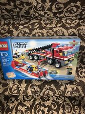 Lego City Off-Road Fire Truck & Fireboat Set 7213 NIB
