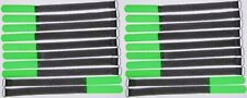 20x Kabelklettband 30 cm x 20 mm SO neon grün Klettband Klett Kabel Binder Band