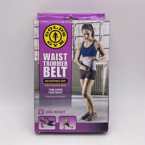 New Golds Gym 8 Inch Wide Waist Trimmer Fits Up To 50 Inch Waist NIB