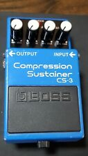 Boss CS3 CS-3 Compression Sustainer FX pedal