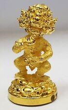 Millionai Statue 4 Ears 5 Eyes Thai Amulet Magic Charm Money Luck Kruba KhamFan