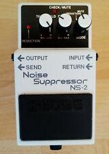 Boss Noise Suppressor NS-2 Bodeneffekt Gitarre - wie neu!