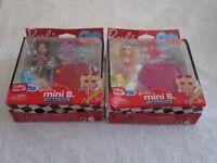 Mattel Lot of 2 Barbie Mini B Valentine Series #21 #22 Target Exclusive Figure
