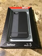 stm harbour case for iPhone 5 (black/grey)  -  FREE SHIPPING