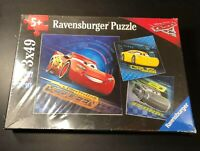 Disney Cars 3 The Movie Ravensburger Jigsaw Puzzle Sealed NIB Lightning McQueen