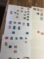 British Commonwealth stamp Selection 26 leaves QV - QE == lot 1%