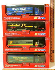 4 Pc Lot Racing Champions 1:64 Die Cast Cab Racing Team Transporters NASCAR NIB