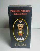 2006 Pittsburgh Pirates Mascot Jolly Roger Bobblehead SGA New in box