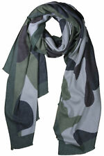 Scarf Woman Camouflage Military Army Clothing Combat Shawl Motif Tactical L