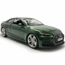Audi RS 5 Coupe 2018 1:24 Scale Model Car Diecast Vehicle Collection Gift Green
