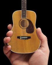 Axe Heaven Classic Natural Acoustic Mini Guitar Replica Collectible
