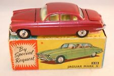 Corgi Toys 238 Jaguar Mark X near mint in box with suitcase
