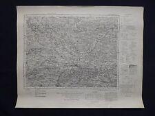 Karte des Deutschen Reiches 548 Neustadt a.d. Aisch in Bayern, Höchstadt, 1940