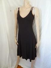 (MAR211) Size 10 *PER UNA* Cute black jersey dress ladies/women