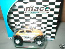 2002 Hot Wheels MACE black & yellow VOLKSWAGON BAJA BUG VW RR LE