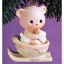 Pm Ornament Bear The Good News of Christmas '87 #104515