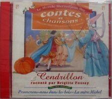 BRIGITTE FOSSEY (CD) CENDRILLON - NEUF SCELLE