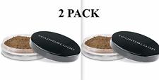 X2 YOUNGBLOOD Natural Loose Mineral Foundation Sealed & NIB (MAHOGANY) Set of 2