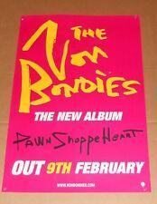 The Von Blondies Pawn Shoppe Heart Poster Original Promo 30x20 Rare