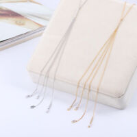 Henri Bendel  Diamond Chain Tassel Metal Fine Long Section Necklace Sweater