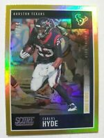 2020 Score Football Gold Zone SP #87 Carlos Hyde Houston Texans 39/50