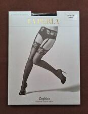 New La Perla Suspender Stockings Zephira Stockings Size M Black